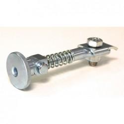 Rear brake strainer