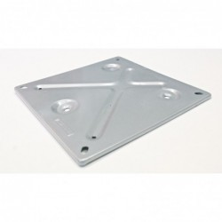 Plate holder for narrow fire