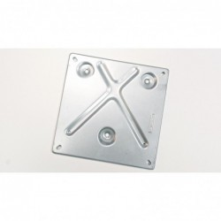 Plate holder for wide fire