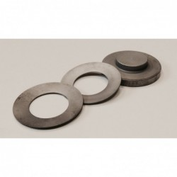 Brace support ring with...