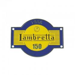Plaque Lambretta