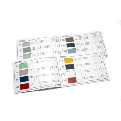 Catalogue de teintes Lambretta