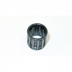 Needle cage for piston axis...