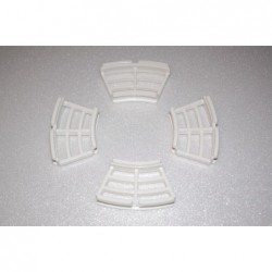 grille blanche pour frein a...