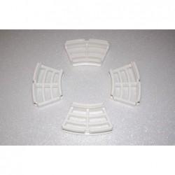white grille for disc brake.